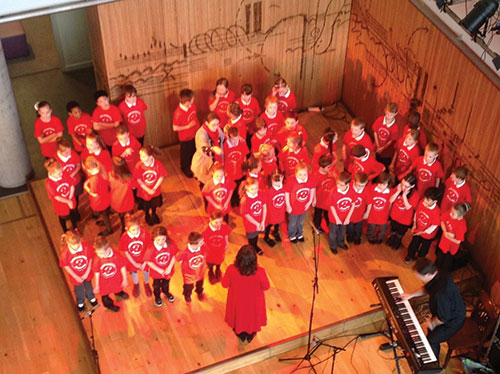 Preludes performing at the Colston Hall