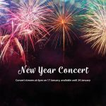 New Year online concert