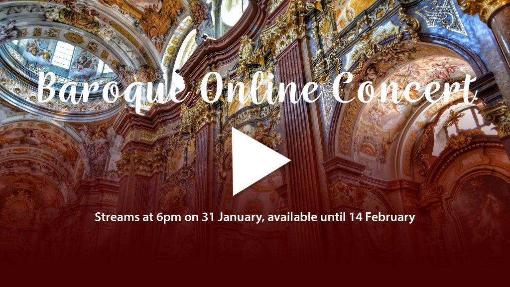 Baroque online concert - 31 January 2021